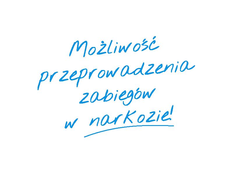 Narkoza - napis
